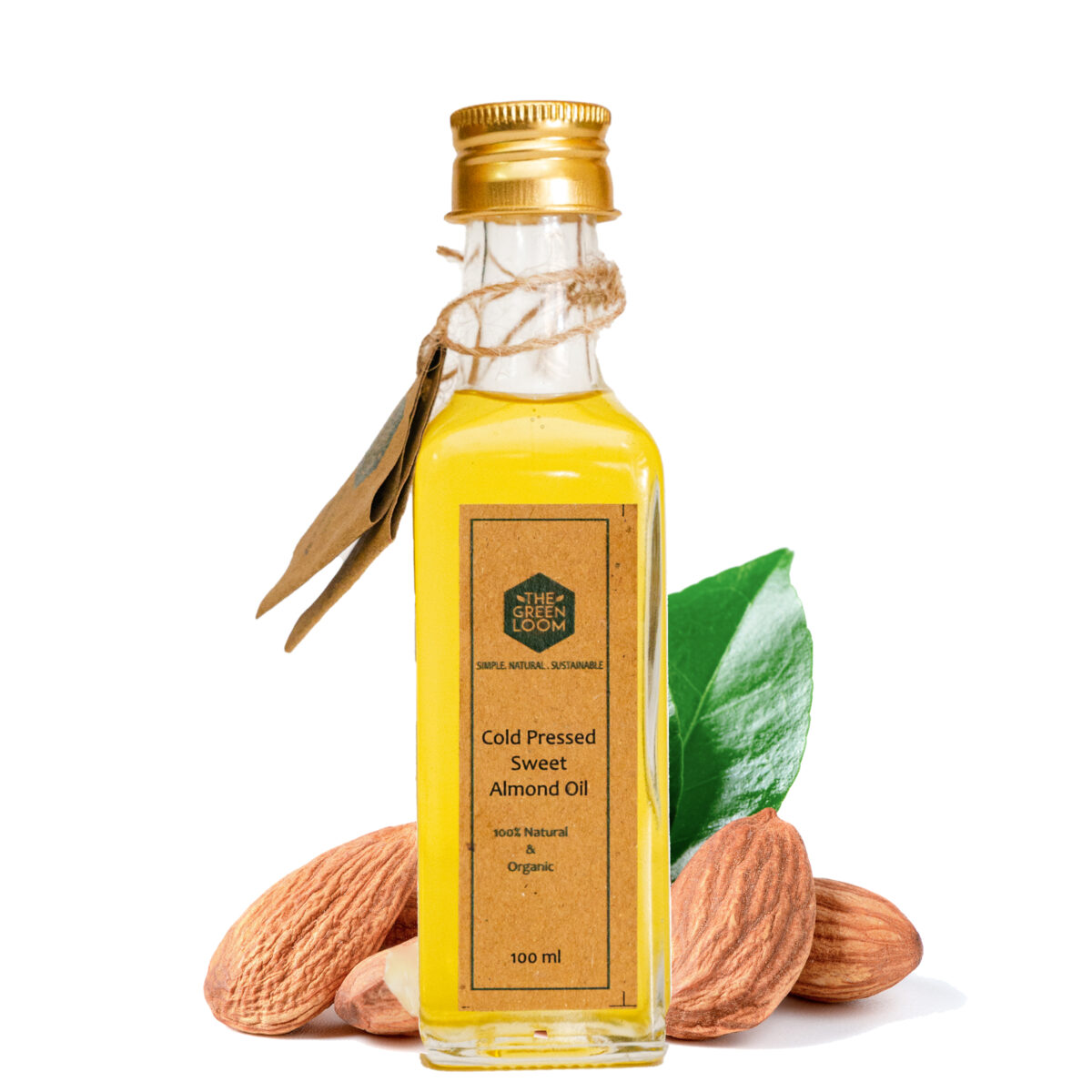 ORGANIC COLD PRESSED SWEET ALMOND OIL